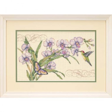 """Набор для вышивки Dimensions 35237 """"Орхидеи и колибри"""""""