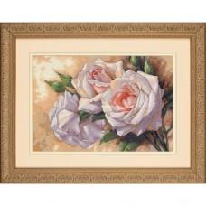 """Набор для вышивки крестом Dimensions 35247 """"Белые розы"""""""