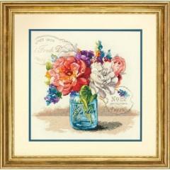 """Набор для вышивки Dimensions 35334 """"Букет из садовых цветов"""""""