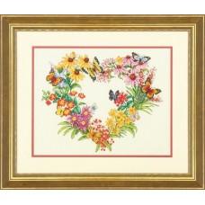 """Набор для вышивки Dimensions 35336 """"Венок из диких цветов"""""""