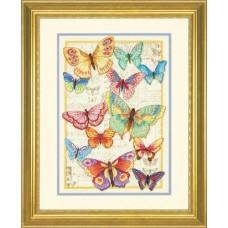 """Набор для вышивки Dimensions 35338 """"Красота бабочек"""""""