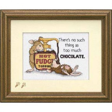 "Набор для вышивки Dimensions 65001 ""Горячий шоколад"""