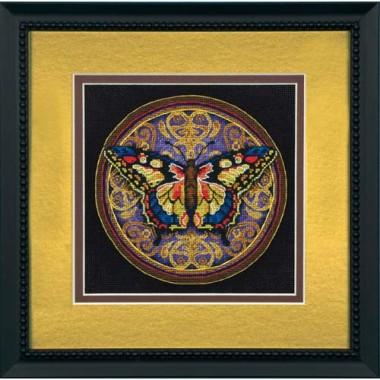 """Набор для вышивки Dimensions 65095 """"Украшенная бабочка"""""""