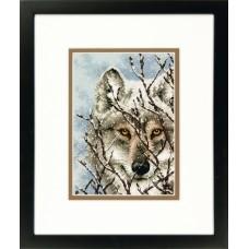 """Набор для вышивки Dimensions 65131 """"Волк"""""""