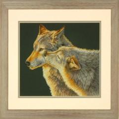 """Набор для вышивки Dimensions 70-35283 """"Поцелуй волка"""""""