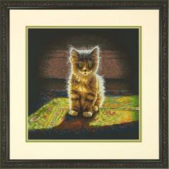 """Набор для вышивки Dimensions 70-35286 """"Нежный пушистый котенок"""""""