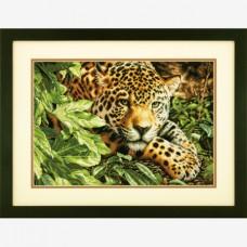 "Набор для вышивания Dimensions 35300 ""Леопард на отдыхе"""