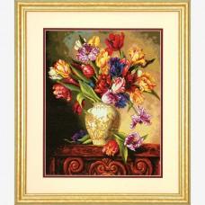 "Набор для вышивки Dimensions 70-35305 ""Пестрые тюльпаны"""