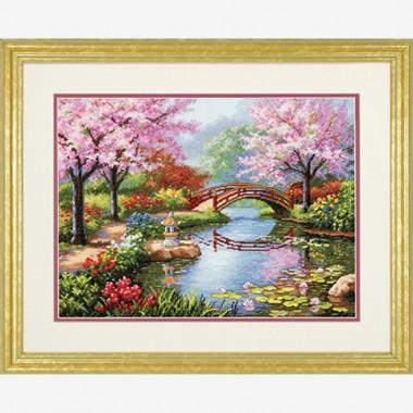 "Набор для вышивки Dimensions 70-35313 ""Японский сад"""