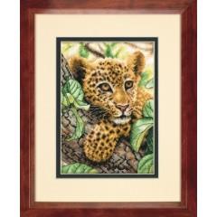 "Набор для вышивки Dimensions 70-65118 ""Молодой леопард"""