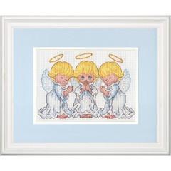 """Набор для вышивания Dimensions 70-65167 """"Маленькие ангелочки"""""""