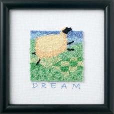 """Набір для вишивки Dimensions 73430 """"Овечка блакитної мрії"""""""