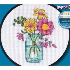 Набор для вышивания Dimensions 74550 Летние цветы
