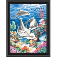 """Набор для рисования Dimensions 91112 """"Дельфины в море"""""""