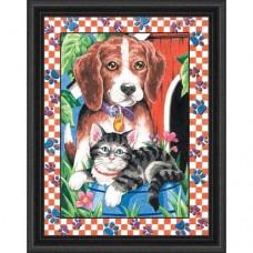 "Набор для рисования Dimensions 91115 ""Кот и пес"""