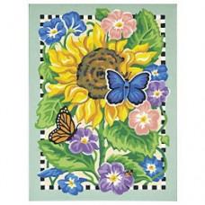 """Набор для рисования Dimensions 91126 """"Бабочки на подсолнухе"""""""
