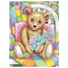 "Набор для рисования Dimensions 91146 ""Мишка с цветами"""