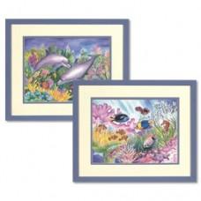 """Набор раскрасок Dimensions 91197 """"Подводный мир"""""""