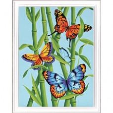 "Набор для рисования Dimensions 91258 ""Бабочки и бамбук"""