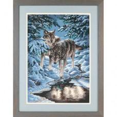 "Набор для рисования Dimensions 91289 ""Зимние волки"""