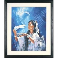 """Набор для рисования Dimensions 91398 """"Индианка и духи"""""""