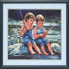 "Набор для рисования Dimensions 91414 ""Друзья-рыбаки"""