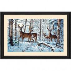 "Набор для рисования Dimensions 91427 ""Зима в лесу"""