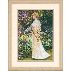 """Набор для вышивки Dimensions 35119 """"В ее саду"""""""
