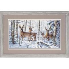 "Набор для вышивки Dimensions 35130 ""Зима в лесу"""