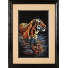 "Набор для вышивки Dimensions 35222 ""Купающийся тигр"""