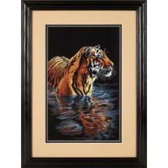 """Набор для вышивки крестом Dimensions 35222 """"Купающийся тигр"""""""