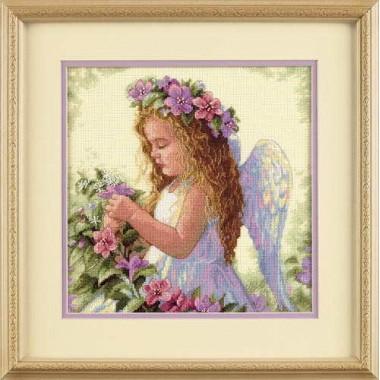 """Набор для вышивки Dimensions 35229 """"Цветочный ангел"""""""