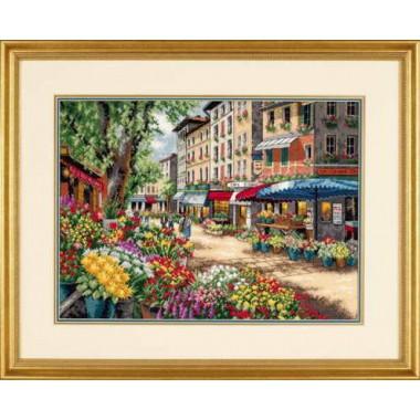 """Набор для вышивки Dimensions 35256 """"Парижский рынок"""""""