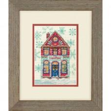 Набор для вышивки Dimensions 70-08988 Праздничный дом
