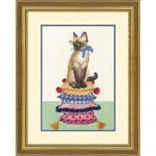 Набор для вышивки Dimensions 70-35367 Леди Кошка