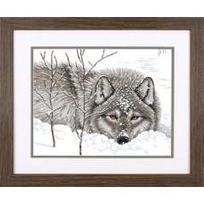 Набор для вышивки Dimensions 70-35377 Снежный волк