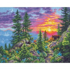 Набор для вышивки Dimensions 70-35383 Закат в горах
