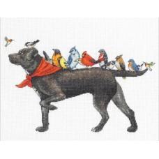 Набор для вышивки Dimensions 70-35385 Птичий пес