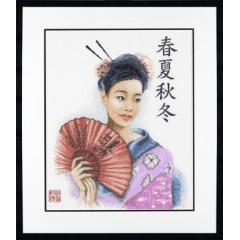 """Набор для вышивания Lanarte 34905 """"Китаянка"""""""