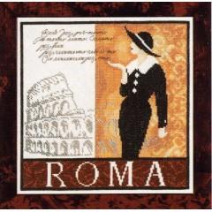 """Набор для вышивания Lanarte 34908 """"Рим"""""""