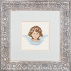 """Набор для вышивания Lanarte 34982 """"Ангел в голубом"""""""