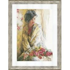 """Набор для вышивания Lanarte PN-0021823 """"Утренняя красота"""""""