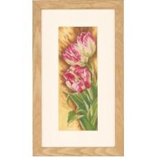 """Набор для вышивания Lanarte PN-0144533 """"Тюльпаны"""""""