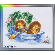 """Набор для вышивания ЛанСвіт Д-008 """"Мечты о море"""""""
