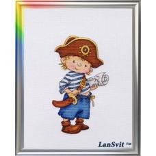 """Набор для вышивания ЛанСвіт Д-036 """"Покоритель морей"""""""