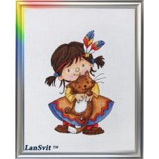 "Набор для вышивания ЛанСвіт Д-038 ""Ягуарунди"""