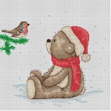 Набор для вышивания Luca-S B1001 Медвежонок Бруно