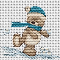 Набор для вышивания Luca-S B1003 Медвежонок Бруно