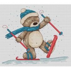 Набор для вышивания Luca-S B1004 Медвежонок Бруно