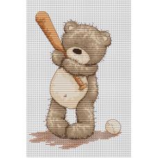 Набор для вышивания Luca-S B1005 Медвежонок Бруно